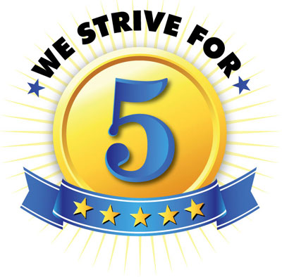 We Strive For 5